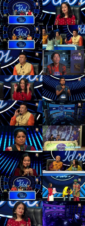 Screenshots Of Hindi Show Indian Idol 20th October 2019 Episode 04 300MB 480P HD