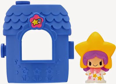 Koeda-chan KF-10 Ngôi nhà mini cùng búp bê Nagareboshi có mái tóc hình ngôi sao