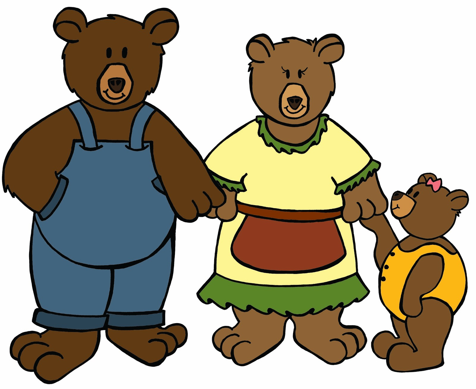 Kindergarten Crayons Meet The Bear Family