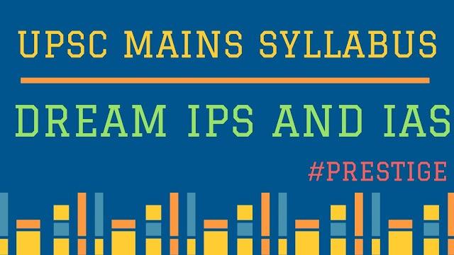 UPSC Mains Syllabus + UPSC exam Pattern[2021 Updated]