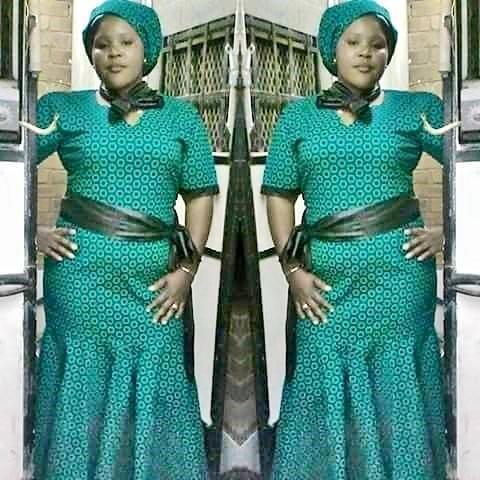 40 african trendy traditional shweshwe dresses   nails c