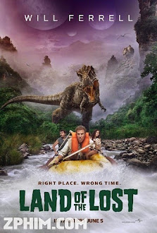 Trôi Về Thời Tiền Sử - Land of the Lost (2009) Poster