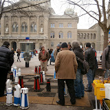 Уличные шахматы в Лозанне