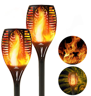 LED torch lights, solar yard lights, lights for yard