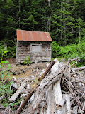 The dam cabin sat only a few yards from the dam.