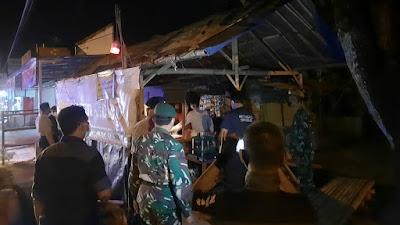 Koramil 15/Sanden Turut Dalam Patroli Gabungan Himbauan Protkes PPKM Darurat