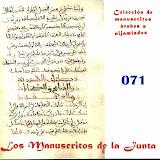 071 - Carpeta de manuscritos sueltos.