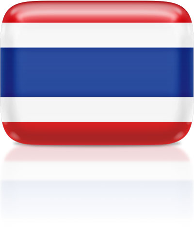 Thai flag clipart rectangular