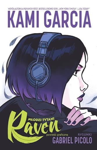 Młodzi Tytani. Raven okładka