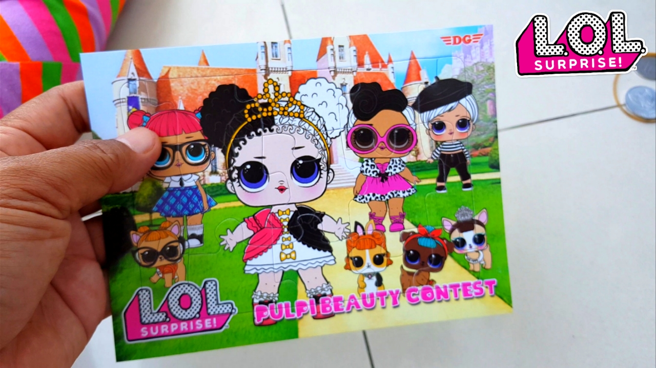 Hai teman nafis main lol surprise lagi yaitu mainan anak perempuan puzzle atau bongkar pasang boneka lol, mirip BP BP an pasang pasangan itu lo tapi ini ...