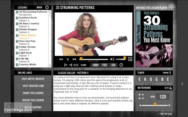 Vicki Genfan - 30 Strumming Patterns You Must Know