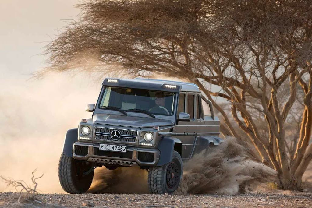 Mercedes-Benz G63 AMG 6x6 56