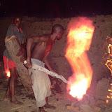 Branden van de bakstenen