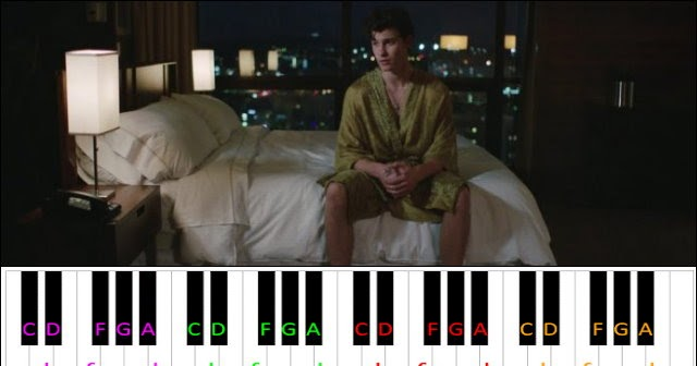 Lost In Japan by Shawn Mendes. Zedd ~ Piano Letter Notes