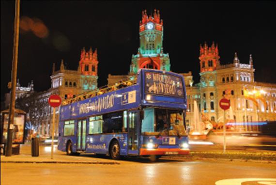 'Bus de la Navidad 2015' de la EMT