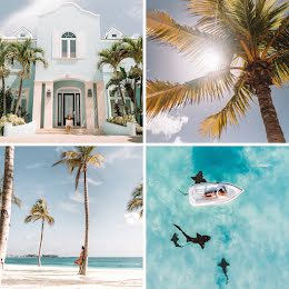 Vacation Collage - Pinterest Square Pin item