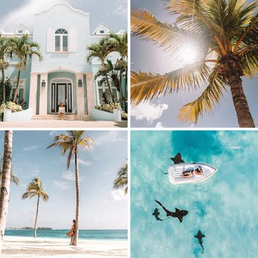 Vacation Collage - Pinterest Square Pin Template