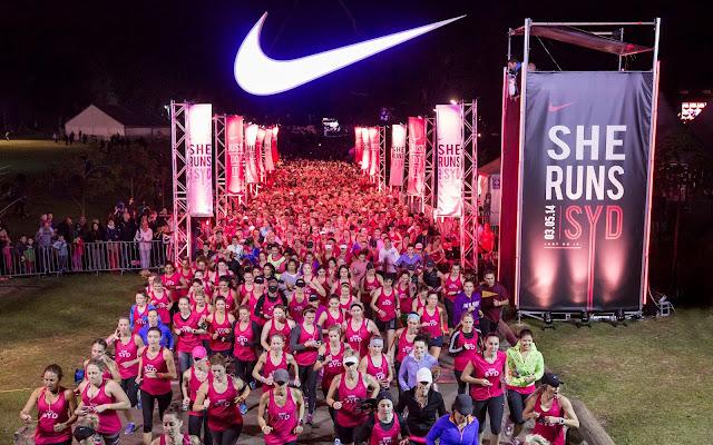 Nike She Runs 2014