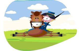 El caballo y el soldado