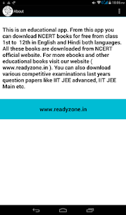 Class 1st to 12th NCERT Books in English & Hindi - náhled