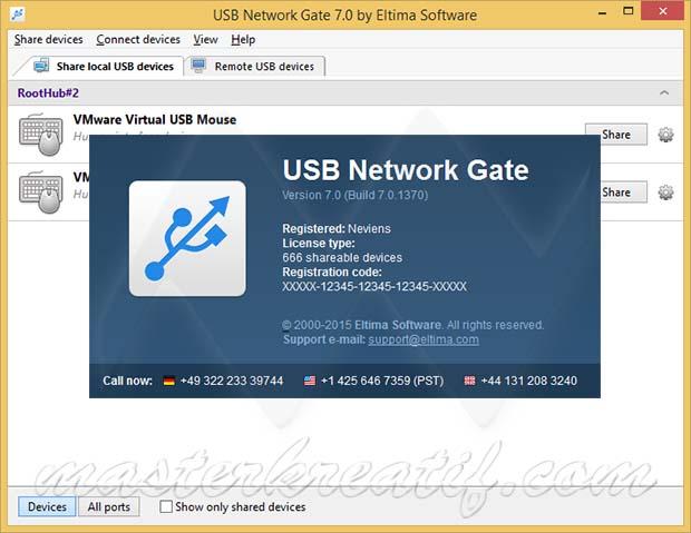 USB Network Gate 7
