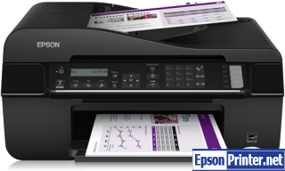 How to Reset Epson BX320FW flashing lights problem