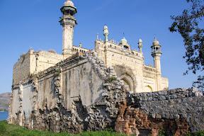 Side view of Masjid Rajgan 1872