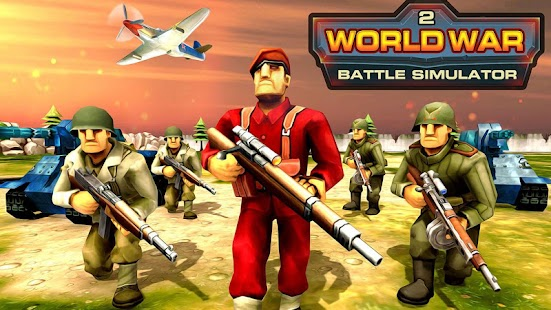 World War 2 Battle Simulator – WW2 Epic Battle