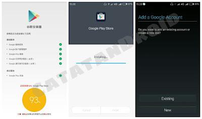 Cara Memasang Pre-Install Aplikasi Google Play Store di Rom Miui8 Dev China
