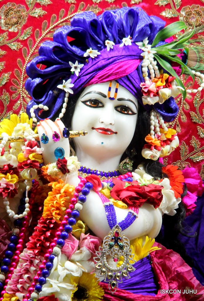 ISKCON Juhu Sringar Deity Darshan on 10th July 2016 (10)
