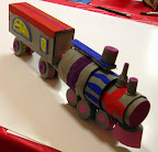 Recycle Train by Cate