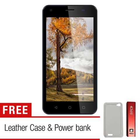 SPC Mobile L50 VOLT - 4G - 16GB -Dark Blue + Gratis Case + Powerbank 3300