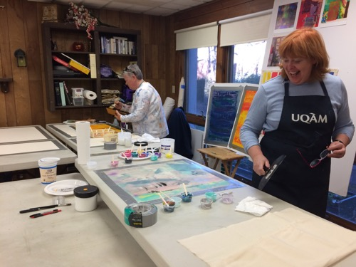 watercolor workshop painting winter class 3-day studio