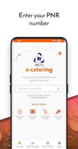 IRCTC eCatering - Food on Track screenshot 1