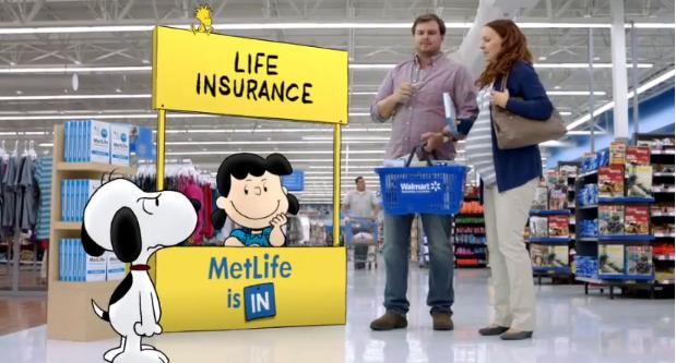 "MetLife ""Whistle"" Ad — Life Insurance In A Box — At Walmart"