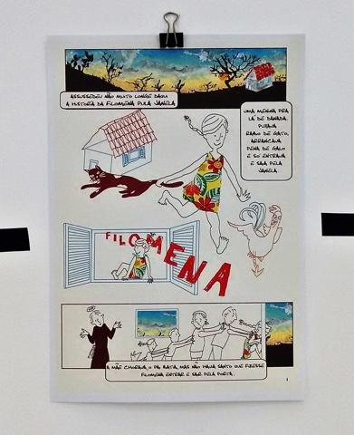 Exposição na UFRN divulga produção potiguar de quadrinhos