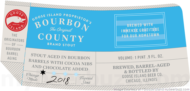 Goose Island Proprietor's Bourbon County Brand Stout Bottles