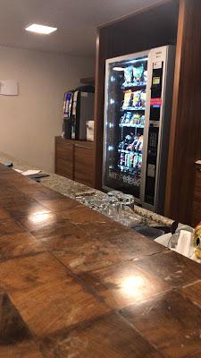 Máquina de comida Hotel CastelMar Florianópolis