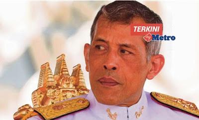 Raja Thai dibedil dengan pistol mainan