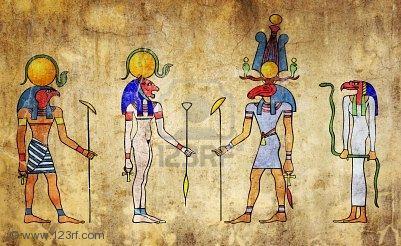 Gods, Egyptian Magic