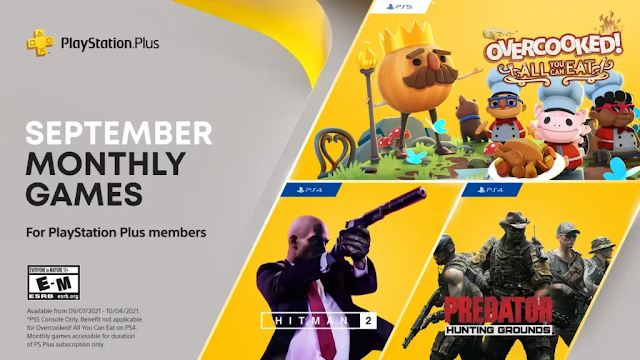 PlayStation Plus Monthly Games for September Month include Hitman 2