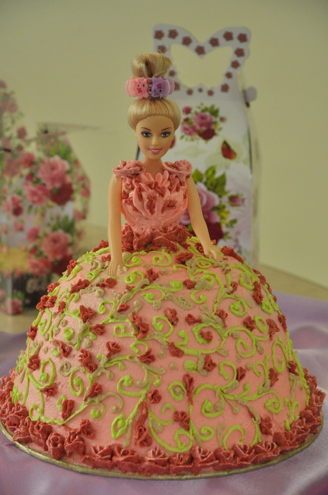 The Kitchen Journal Doll Cakes and Butterfly Fairy Cakes