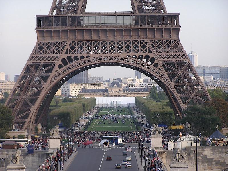 Campo de Marte, Torre Eiffel