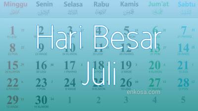 Hari Besar Nasional Bulan Juli 2021