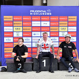 OIC - ENTSIMAGES.COM - Hand Cyclist Winners James Pierce, Jonanthan Walters and Gary Donald at the Prudential RideLondon Grand Prix 2016    in London  29th July 2016 Photo Mobis Photos/OIC 0203 174 1069