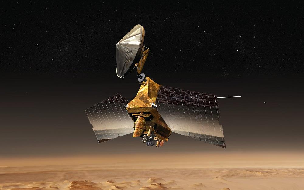 Tàu thăm dò chụp hình Trái Đất và Mặt Trăng từ Sao Hỏa