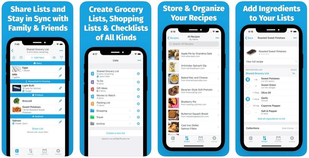 AnyList: Grocery Shopping List