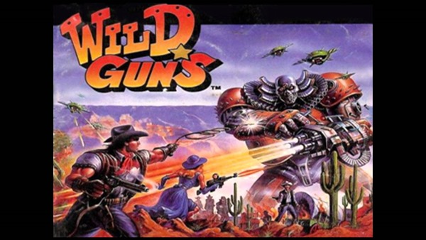 wild guns snes cover