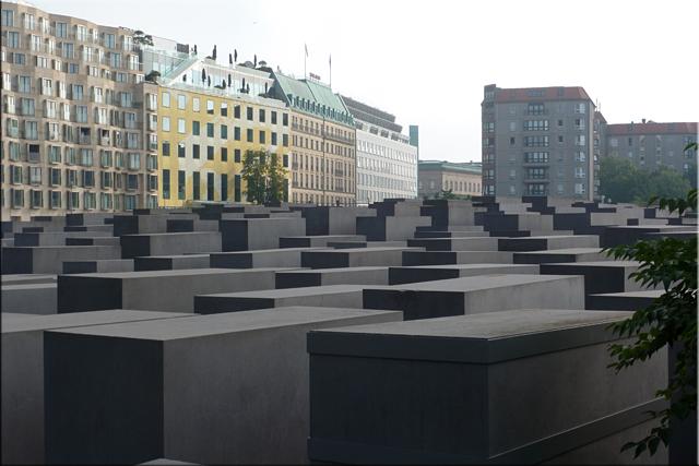 Monumento a los judíos de Europa asesinados (Holocaust-Mahnmal) - Berlín'15