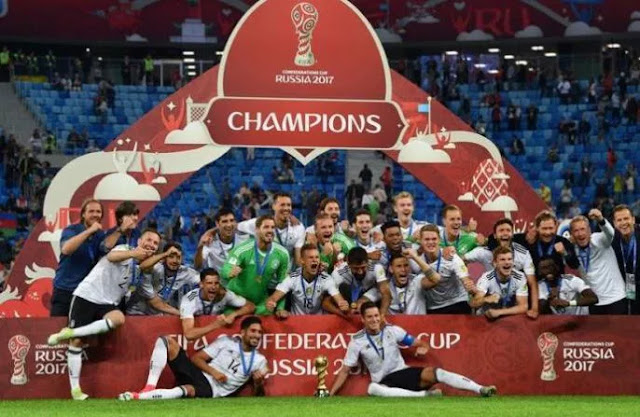 Germany Beat Chile To Win FIFA Confederations Cup